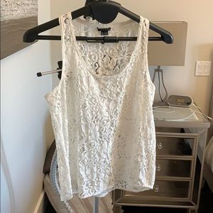 Theory Lace Tank Top